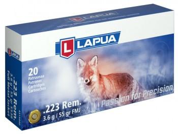 Патрон к.223 Rem 3,6гр.LAPUA Full Metal Jacket - купить (заказать), узнать цену - Охотничий супермаркет Стрелец г. Екатеринбург