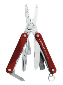 Инструмент Leatherman Squirt ES4 красный - купить (заказать), узнать цену - Охотничий супермаркет Стрелец г. Екатеринбург