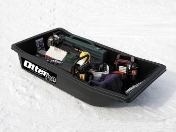 Сани Otter II large sled black 212x110x40 - купить (заказать), узнать цену - Охотничий супермаркет Стрелец г. Екатеринбург