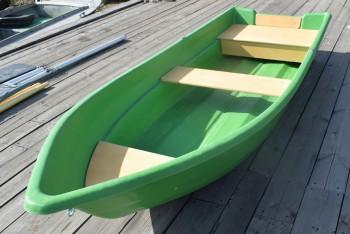 """Лодка """"Виза Легант-340"""" №441 зеленый снаружи/песочный внутри - купить (заказать), узнать цену - Охотничий супермаркет Стрелец г. Екатеринбург"""
