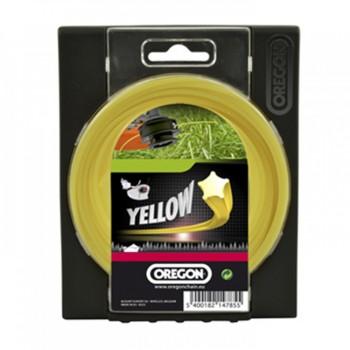 """Леска триммерная """"Oregon"""" Starline yellow 2,0х15м - купить (заказать), узнать цену - Охотничий супермаркет Стрелец г. Екатеринбург"""