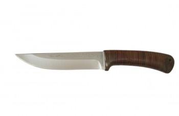 Нож Лиса туристический кожа 95х18 - купить (заказать), узнать цену - Охотничий супермаркет Стрелец г. Екатеринбург
