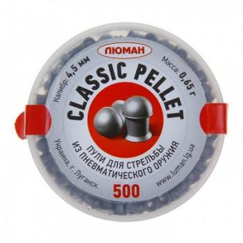 Пуля Люман Classic pellets, 0,65 г. 4,5 мм. (500 шт.) - купить (заказать), узнать цену - Охотничий супермаркет Стрелец г. Екатеринбург