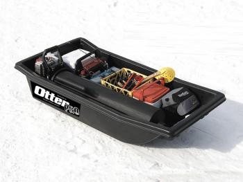 Сани Otter II medium sled black 162х81х35 - купить (заказать), узнать цену - Охотничий супермаркет Стрелец г. Екатеринбург