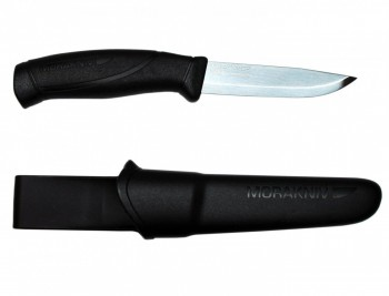 Нож Morakniv Compnion Black нержавеющая сталь черный - купить (заказать), узнать цену - Охотничий супермаркет Стрелец г. Екатеринбург