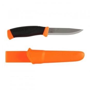 Нож Morakniv Compnion F Orange нержавеющая сталь прорезиненная рукоять оранжевый  - купить (заказать), узнать цену - Охотничий супермаркет Стрелец г. Екатеринбург