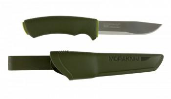Нож Morakniv Bushcraft Forest нержавеющая сталь резиновая ручка - купить (заказать), узнать цену - Охотничий супермаркет Стрелец г. Екатеринбург