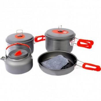 Набор походной посуды из семи предметов CW-C06S - купить (заказать), узнать цену - Охотничий супермаркет Стрелец г. Екатеринбург