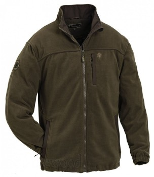 Куртка флисовая Pinewood New Malone коричневая - купить (заказать), узнать цену - Охотничий супермаркет Стрелец г. Екатеринбург