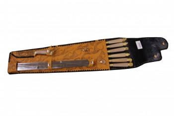 Набор шашлычный Нш-4 - купить (заказать), узнать цену - Охотничий супермаркет Стрелец г. Екатеринбург