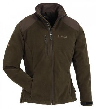 Куртка женская Pinewood Ontaria флисовая коричневая - купить (заказать), узнать цену - Охотничий супермаркет Стрелец г. Екатеринбург
