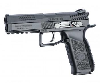 Пистолет пневматический ASG CZ P-09 Duty пулевой, blowback, калл 4,5 мм - купить (заказать), узнать цену - Охотничий супермаркет Стрелец г. Екатеринбург