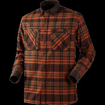 Рубашка Harkila Pajala Burnt Orange Check - купить (заказать), узнать цену - Охотничий супермаркет Стрелец г. Екатеринбург