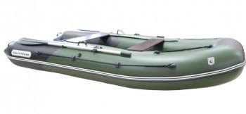 Лодка ПВХ Golfstream Патриот MP 300 зелено-черная - купить (заказать), узнать цену - Охотничий супермаркет Стрелец г. Екатеринбург