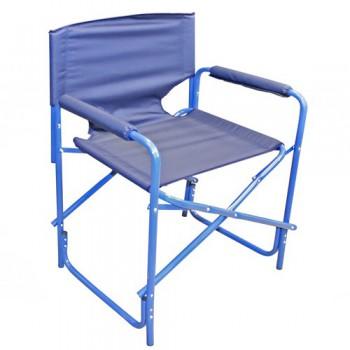 Кресло складное СЛЕДОПЫТ 585х450х825 мм, сталь 20 мм, синий - купить (заказать), узнать цену - Охотничий супермаркет Стрелец г. Екатеринбург
