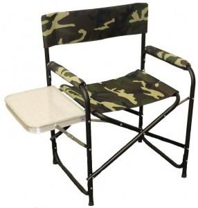 Кресло складное СЛЕДОПЫТ 585х450х825 мм, со столиком, сталь - купить (заказать), узнать цену - Охотничий супермаркет Стрелец г. Екатеринбург