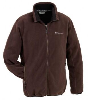 Куртка флисовая Pinewood Бейсик коричневая - купить (заказать), узнать цену - Охотничий супермаркет Стрелец г. Екатеринбург