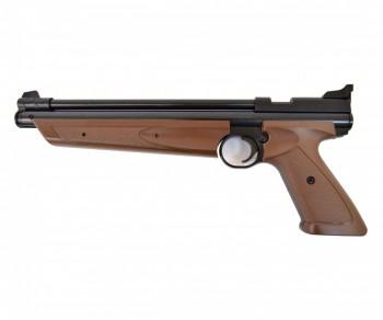 Пистолет пневматический Crosman P1377BR American Classic Brown, кал.4,5 мм - купить (заказать), узнать цену - Охотничий супермаркет Стрелец г. Екатеринбург