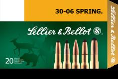 Патрон к.30-06 SPR FMJ 11,7гр Training Sellier&Bellot 1уп/50шт - купить (заказать), узнать цену - Охотничий супермаркет Стрелец г. Екатеринбург