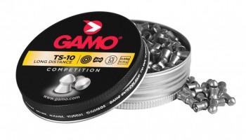 Пуля Gamo TS-10 к.4,5мм 10.5 г 1уп/200шт - купить (заказать), узнать цену - Охотничий супермаркет Стрелец г. Екатеринбург