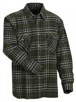 Рубашка фланелевая Хэрьедален  цвет зеленый - купить (заказать), узнать цену - Охотничий супермаркет Стрелец г. Екатеринбург