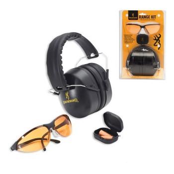 Комплект Browning Ranger наушники+беруши+очки  - купить (заказать), узнать цену - Охотничий супермаркет Стрелец г. Екатеринбург