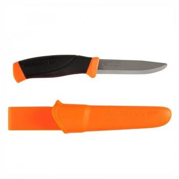 Нож Morakniv Compnion F нержавеющая сталь, прорезиненная  рукоять - купить (заказать), узнать цену - Охотничий супермаркет Стрелец г. Екатеринбург