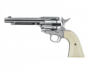 Револьвер пневматический Umarex Colt SAA 45 PELLET nickel, кал. 4,5мм - купить (заказать), узнать цену - Охотничий супермаркет Стрелец г. Екатеринбург