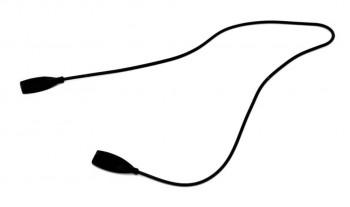 Шнурок для стрелковых очков из силикона 52,5 см черный - купить (заказать), узнать цену - Охотничий супермаркет Стрелец г. Екатеринбург
