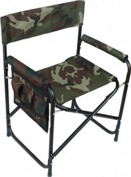 Кресло складное СЛЕДОПЫТ с карманом на подлокотнике 585х450х825 мм, сталь - купить (заказать), узнать цену - Охотничий супермаркет Стрелец г. Екатеринбург