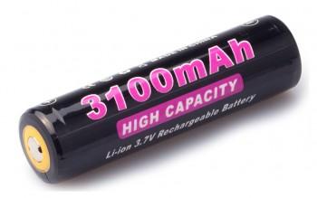 Аккумулятор литий-ионный Soshine 18650 3100mAh 3,7V PCB - купить (заказать), узнать цену - Охотничий супермаркет Стрелец г. Екатеринбург