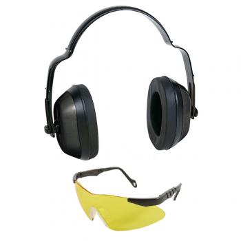 Набор наушники+очки Allen 23дб, линзы жёлтые - купить (заказать), узнать цену - Охотничий супермаркет Стрелец г. Екатеринбург