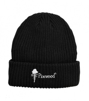 Шапка Pinewood Stoten черная - купить (заказать), узнать цену - Охотничий супермаркет Стрелец г. Екатеринбург