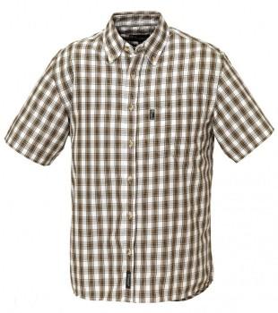 Рубашка Pinewood Summer с коротким рукавом бежевая - купить (заказать), узнать цену - Охотничий супермаркет Стрелец г. Екатеринбург