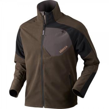 Куртка Harkila Thor Fleece Jacket Shadow Brown/Black - купить (заказать), узнать цену - Охотничий супермаркет Стрелец г. Екатеринбург