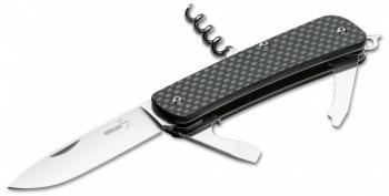 Нож Boker Tech Tool Carbon 2 BK01BO822 складной карбон, сталь 12C27 - купить (заказать), узнать цену - Охотничий супермаркет Стрелец г. Екатеринбург