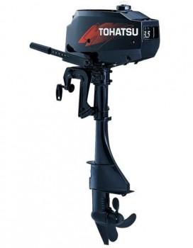 Мотор лодочный Tohatsu 3,5 B2S - купить (заказать), узнать цену - Охотничий супермаркет Стрелец г. Екатеринбург
