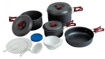 Набор посуды Tramp TRC-026 (анодированный алюминий) - купить (заказать), узнать цену - Охотничий супермаркет Стрелец г. Екатеринбург