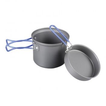 Котелок с крышкой-сковородой Tramp анодированный алюминий TRC-039 - купить (заказать), узнать цену - Охотничий супермаркет Стрелец г. Екатеринбург