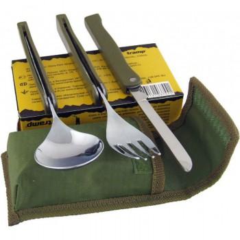 Набор TRC-049 складных столовых приборов Tramp - купить (заказать), узнать цену - Охотничий супермаркет Стрелец г. Екатеринбург