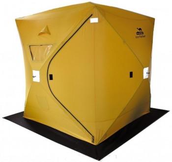 Палатка Tramp TRT-108 IceFisher 3 желтая - купить (заказать), узнать цену - Охотничий супермаркет Стрелец г. Екатеринбург