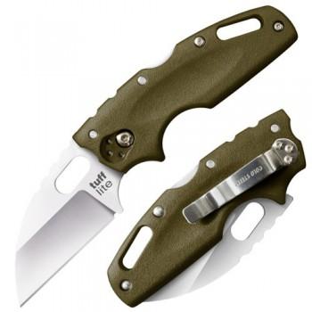 Нож складной Cold Steel CS_20LTG Tuff Lite Plain Green, сталь AUS 8A, рукоять Griv-Ex - купить (заказать), узнать цену - Охотничий супермаркет Стрелец г. Екатеринбург