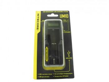 Зарядное устройство Nitecore UM10 18650 /16340 - купить (заказать), узнать цену - Охотничий супермаркет Стрелец г. Екатеринбург