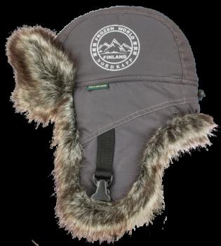 Шапка-ушанка NordKapp Badger MX Dark Grey арт.: 524 Цвет: темно-серый - купить (заказать), узнать цену - Охотничий супермаркет Стрелец г. Екатеринбург