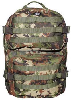 Рюкзак MFH Assault II, 40 л, цвет Vegetato - купить (заказать), узнать цену - Охотничий супермаркет Стрелец г. Екатеринбург