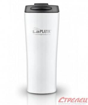 Кружка-термос LaPlaya 0,4L Vacuum Travel Mug white - купить (заказать), узнать цену - Охотничий супермаркет Стрелец г. Екатеринбург