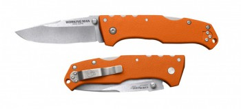 Нож Cold Steel CS_54NVRY Working Man Blaze Orange - купить (заказать), узнать цену - Охотничий супермаркет Стрелец г. Екатеринбург