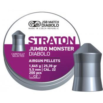 Пуля JSB Diabolo Staton Jumbo Monster к.5,5 1уп/200 шт - купить (заказать), узнать цену - Охотничий супермаркет Стрелец г. Екатеринбург