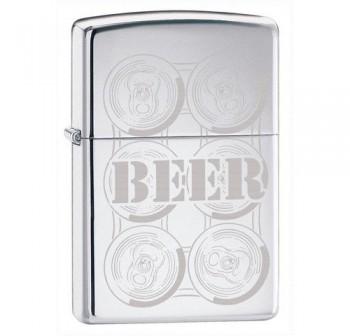Зажигалка Zippo Beer 24720 - купить (заказать), узнать цену - Охотничий супермаркет Стрелец г. Екатеринбург