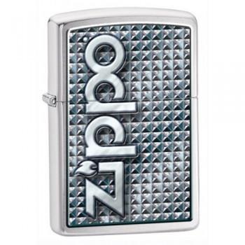 Зажигалка Zippo Brushed Chrome 28280 - купить (заказать), узнать цену - Охотничий супермаркет Стрелец г. Екатеринбург